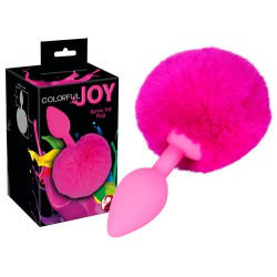 Korek analny Colorful Joy Bunny Tail