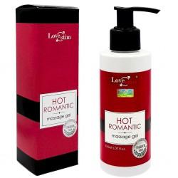Olejek do masażu rozgrzewający Hot Romantic 150ml LoveStim