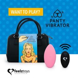 Feelztoys - zdalnie sterowany wibrator Panty Vibe różowy