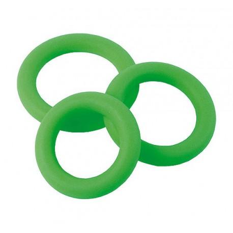 Zestaw 3 szt. silikonowych ringów erekcyjnych