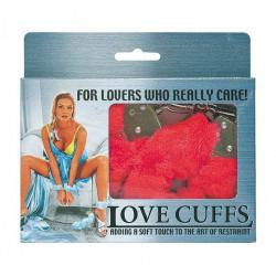 Kajdanki Miłości czerwone