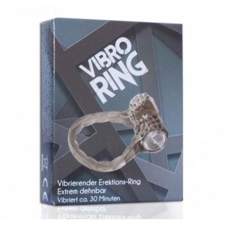 Ring na penisa z wibracją czarny