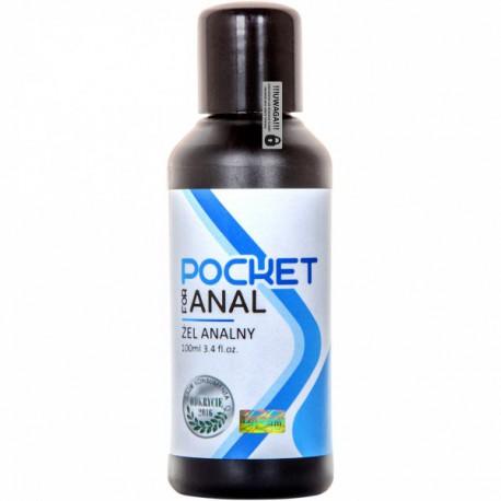 Lubrykant analny Pocket for anal 100ml LoveStim