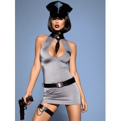 POLICE DRESS kostium L/XL -obsessive