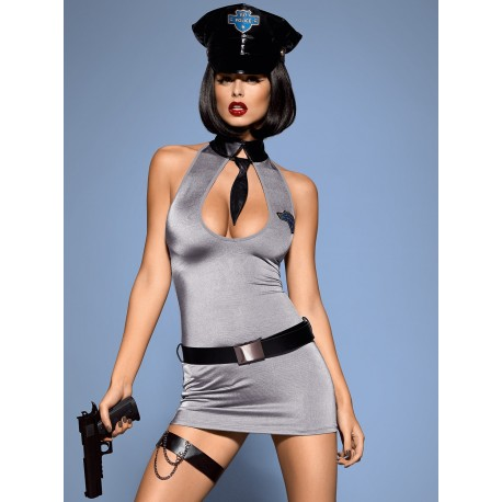 POLICE DRESS kostium L/XL -obsessive
