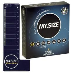 Prezerwatywy MY.SIZE 47 mm 3 szt.