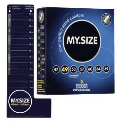 Prezerwatywy MY.SIZE 49 mm 3 szt.