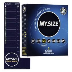 Prezerwatywy MY.SIZE 53 mm 3 szt.