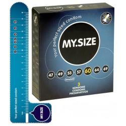 Prezerwatywy MY.SIZE 60 mm 3 szt.
