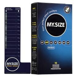 Prezerwatywy MY.SIZE szer.49 mm, dł'.165 mm 10 szt