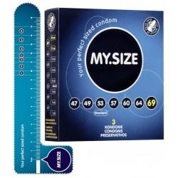 Prezerwatywy MY.SIZE 69 mm 3 szt.