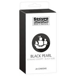 Prezerwatywy Secura Black pearl 24szt.
