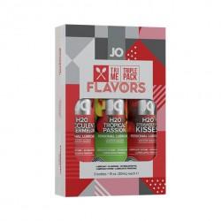 System JO Tri Me Triple Pack Flavors - trzypak 3 x 30ml