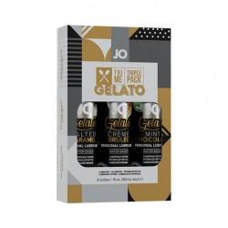 System JO Tri Me Triple Pack Gelato- trzypak 3 x 30ml
