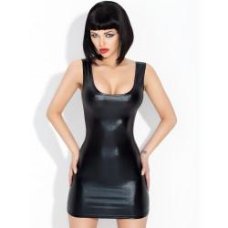 Sukienka mini z lacku