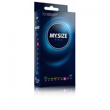 Prezerwatywy 64 mm 10 szt. My.Size Pro