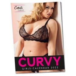 Kalendarz Dziewczyny plus size 2022 - opakowanie 1 szt.