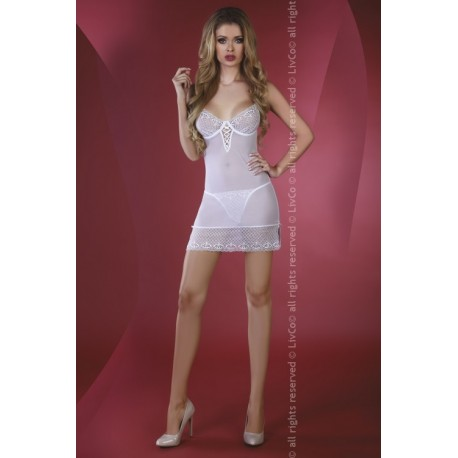 Florizel White LC 90192 Sensual Collection