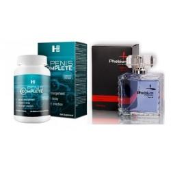 Zestaw Penis Complete + feromon perfum Phobium man 100ml