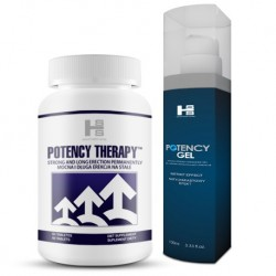 Zestaw E16 - Potency Therapy tab. +gel