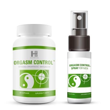 Zestaw E20 - Orgasm Control tab. +spray