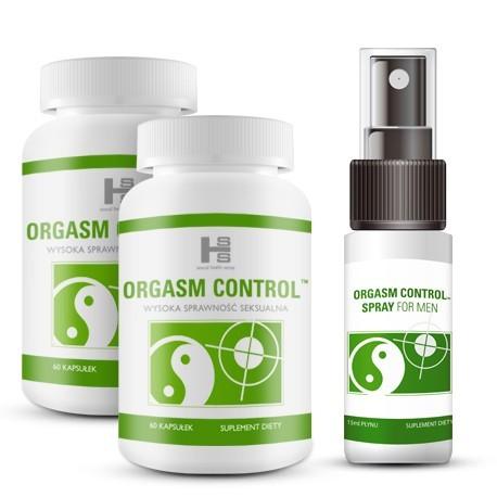 Zestaw E22 - Orgasm Control 2x tab. +spray