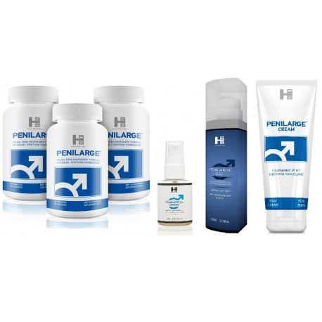 Zestaw E8 - Penilarge tab.+krem+gel+spray